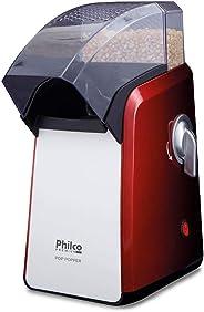 Pipoqueira Pop Popper, 1200w, 110v, 52552002 Philco Vermelho/Branco
