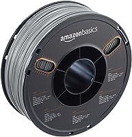 AmazonBasics ABS 3D Printer Filament, 1.75mm, Gray, 1 kg Spool from AmazonBasics