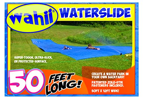 Wahii Waterslide 50 - World's Biggest Backyard Lawn Water Sl