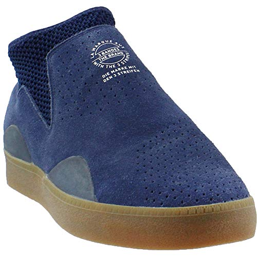 adidas Skateboarding Men's 3ST.002 Collegiate Navy/Footwear White/Gum 12 D US