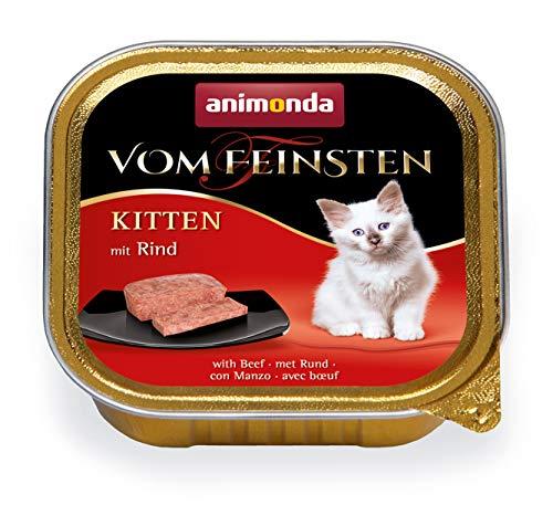 animonda Vom Feinsten Kitten, Nassfutter für wachsende Katzen im ersten Lebensjahr