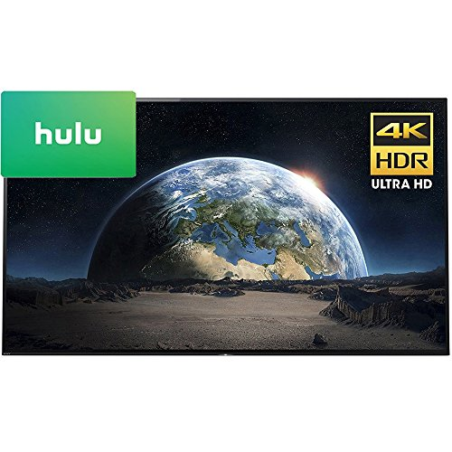 Sony XBR77A1E 77″ 4K Ultra HD Smart BRAVIA OLED TV 2017 Model with Hulu $25 Gift Card