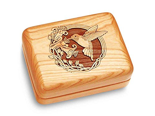 Heartwood Creations Music Box 4x3 - Hummingbird - Waltz Of The ()