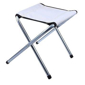 Petit Épaississant Pliante Chaise Extérieur De Pour Tabouret Camping fgYv6I7mby