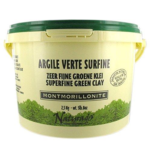 ARGILE VERTE MONTMORILLONITE - 2.5 KG NATURADO