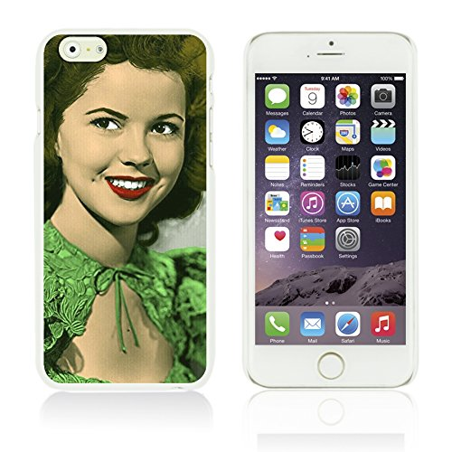 OBiDi - Celebrity Star Hard Back Case for Apple iPhone 6 Plus (5.5 inch) Smartphone - Shirley Temple