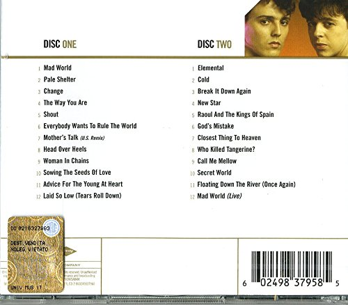Gold - The Very Best Of Tears For Fears by CD