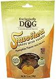 EXCLUSIVELY DOG Dog Smoochers Drops with Yogurt Treat, Pumpkin