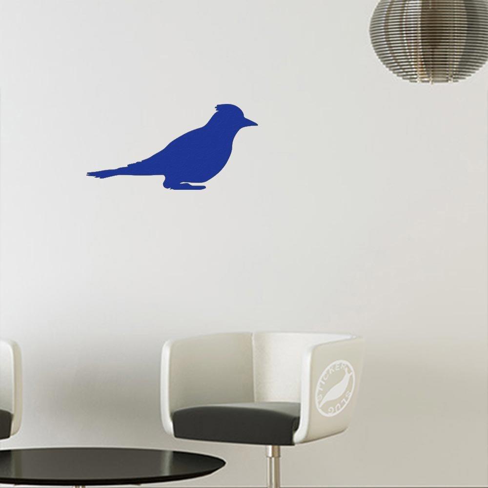 【正規逆輸入品】 カナリア鳥デカールステッカー 8 ブルー ブルー inch ブルー z-ao-1717-matteblue-8 8 inch マット ブルー マット (壁用) B010KNIIR8, アットネットサービス2nd:443832ca --- a0267596.xsph.ru