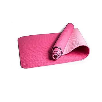 GQHW Esterilla de Yoga colchonetas de Pilates ecológica Soft ...