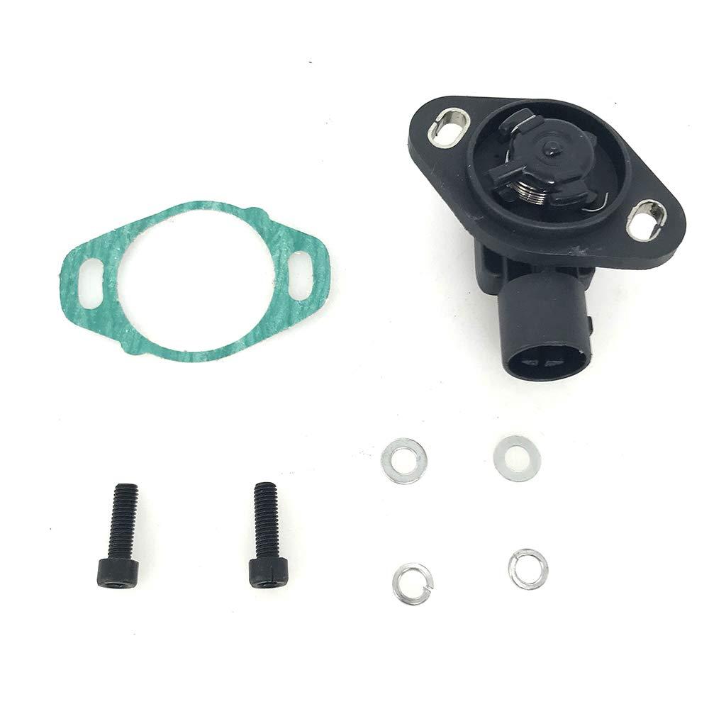 TPS Throttle Position Sensor Accelerator Switch for 1990-1997 Honda Accord 1989-2000 Honda Civic 1997-2001 Honda CR-V 1992-2001 Honda Prelude Replace OE# 06164-PM5-A02