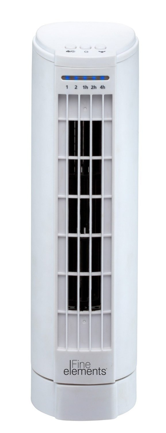 Daewoo Mini Tower Fan, White Europasonic ES198