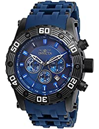 Men's 23759 Sea Spider Quartz Chronograph Blue Dial Watch