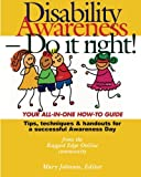 Disability Awareness - Do It Right! 9780972118910