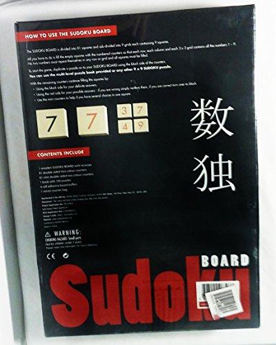 Wooden Deluxe Sudoku Board Game