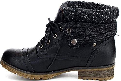Refresh style up bootie,Wynne-01 Black