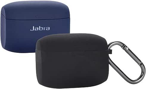Jabra Elite Active 65t Silicone Case, Esimen Protective Skin Cover for Jabra Elite 65 Wireless Sports Earbuds (Black)