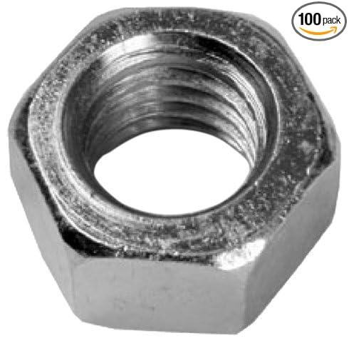 100-Pack L.H Dottie HN14 Hex Nut 1//4-Inch-20 TPI Finished Zinc Plated