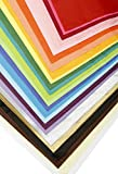 "ShipGuard 100-Piece Tissue Paper Pack – Premium Quality Tissue Paper for Wrapping, Paper Crafts, Packing and More, 20""x26"" - Assorted Colors"