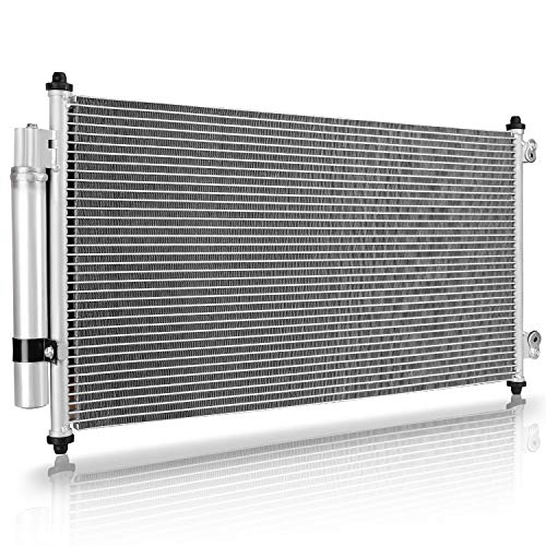 A/C Condenser for 2008-2012 Honda Accord | 2010-2015 Honda Crosstour - 5/6 Speed Automatic/Manual (2.4L L4 / 3.5L V6) ()