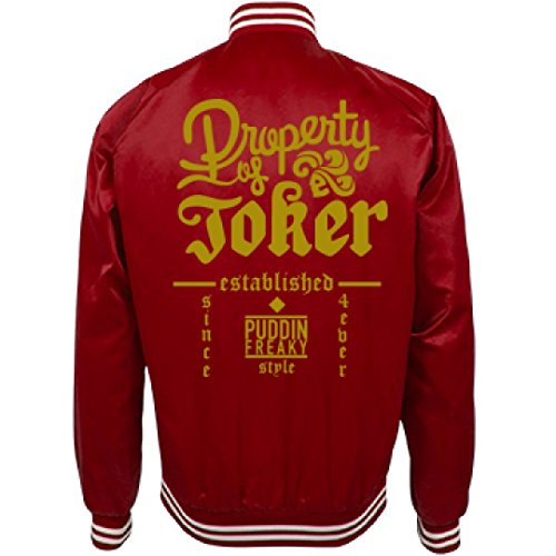 Halloween Events In Columbus Ohio (Property of Joker Harley Jacket: Unisex Nylon Bomber Baseball Jacket)