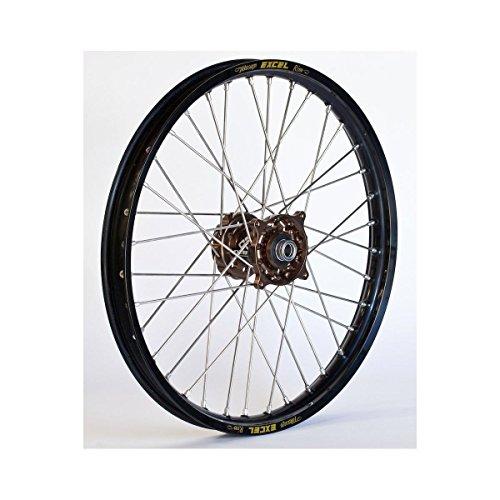 Wheel Magnesium Rear (Dubya 56-3063MB Complete Rear Wheel - Magnesium Talon Hub/Black Excel Takasago Rim - 2.15x19 (19))