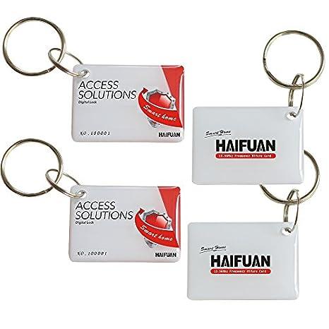 HFA6300D HAIFUAN Mifare Cards for HFAS200MF 4PC HFAM10,HFAS100MF
