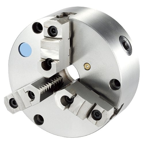 HHIP 3900-3432 3 Jaw Chuck with Front Mount and Top Reversible, Plain Back, (3 Jaw Plain Back Chuck)