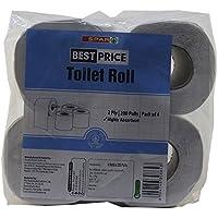 Spar Best Price Toilet Roll - 4 x 200 Pulls Pack