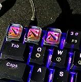 Mugen Custom Dota Backlit Gaming Resin Keycaps for