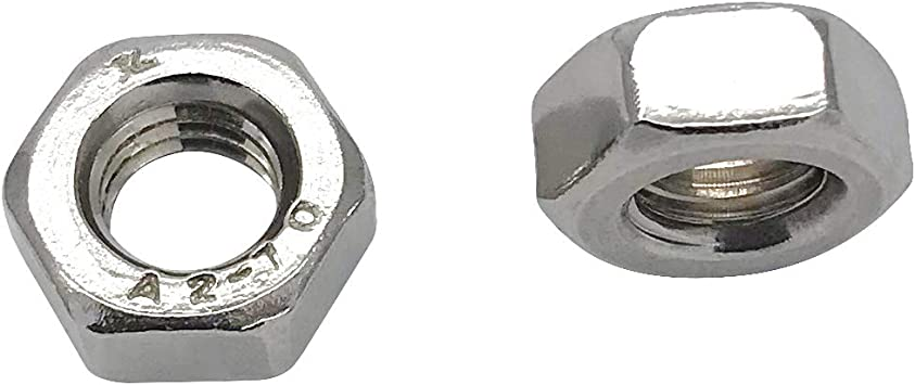 x 70mm Stainless Steel SS 304 A2 70 Bolt Qty 100 Hex Set Screw M6 6mm