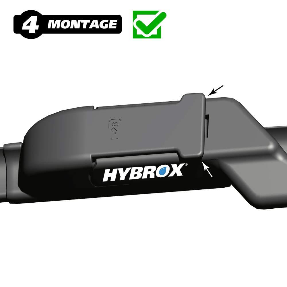 Hybrox Windscreen Wiper Blade Set 1442X