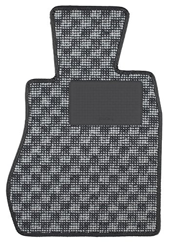 KARO(カロ) フロアマット FLAXY ブリリアントグレー スバル インプレッサスポーツ 3084(一台分) B00NT5PU12 FLAXY×ブリリアントグレー FLAXY×ブリリアントグレー