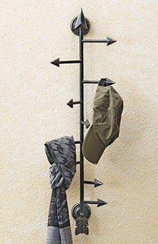 Black Forest D cor Arrow Hat Coat Rack