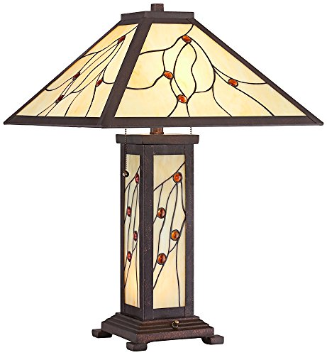 Robert Louis Tiffany Bexley Mission Nightlight Table Lamp by Robert Louis Tiffany