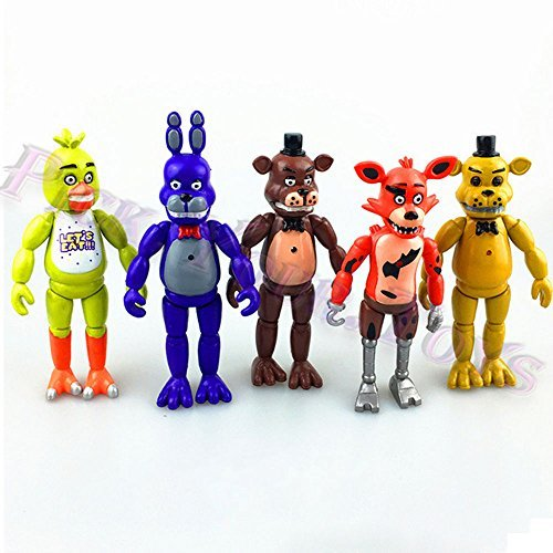 gg 5 PCS FNAF Five Nights At Freddy's 6