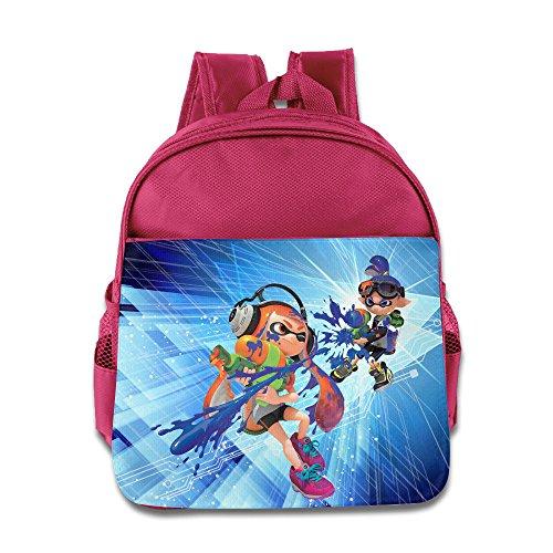 Price comparison product image NUBIA Splatoon Game Baby Boys Girls Preshool Backpack Pink