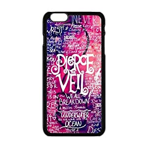 Masq Personalized Protective Case For IPhone 6 PLUS TPU Rubber Case - Pierce The Veil