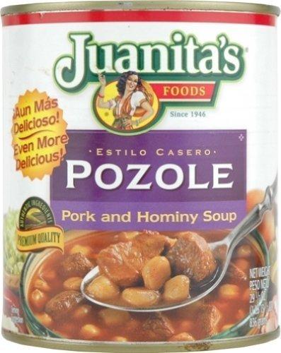 Juanita's Pozole, Pork & Hominy Soup 25 Oz (Pack of 3) by Juanita's