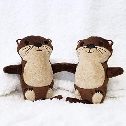 Amazoncom Otters Holding Hands Stuffed Animals For Valentines Day