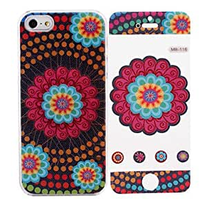 GHK - National Style Pattern While Calling Or Called Lightning Flash Led Case for iPhone 5/5S