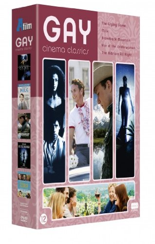 - Gay Cinema Classics (5 Films) - 3-DVD Box Set ( The Crying Game / Milk / Brokeback Mountain / Kiss of the Spider Woman / The Kids Are Alright ) [ NON-USA FORMAT, PAL, Reg.2 Import - Netherlands ]