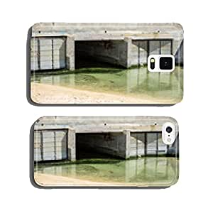 Urban waste water. Sewerage in the city. cell phone cover case Samsung S6