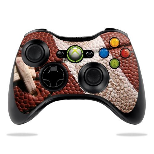 MightySkins Skin Compatible with Microsoft Xbox 360 Controller - Football | Protective, Durable, and Unique Vinyl Decal wrap Cover | Easy to Apply, Remove, and Change Styles | Made in - Bowl Ga