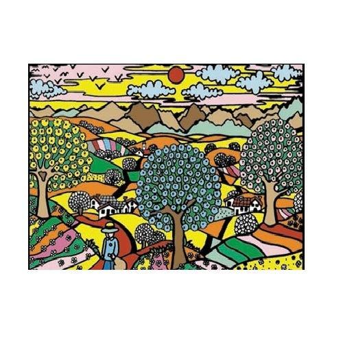Colorvelvet L003 - Disegno Primavera, 47 x 35 cm