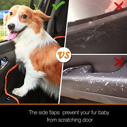 Yesyees Waterproof Dog Car Seat Covers Pet Seat Cover