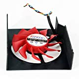 FD8015U12S 12V 0.5A 98x89x29mm 4 Pin Replacement Cooling Fan For HD7870 R7950 Graphics Card Fan