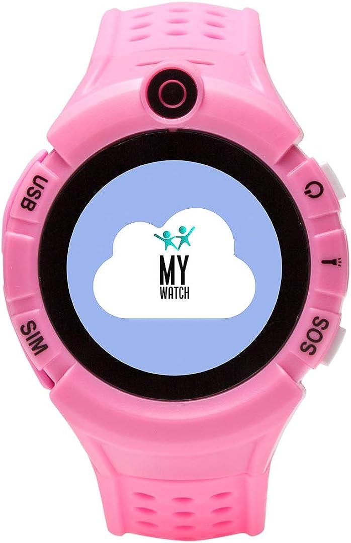 Smartwatch Niño - Reloj Inteligente con Localizador GPS Niños - Compatible iOS/Android - Botón SOS y Detección de Ausencia del Reloj - Reloj Inteligente - Todas Las Operadoras