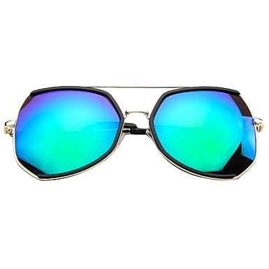 Metal Colorido Retro Moda Hombres Gafas De Sol Multicolor ...