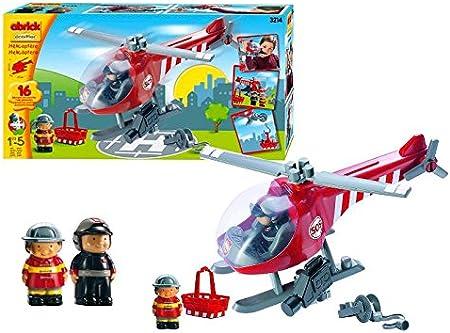 Ecoiffier 3214 - Helicóptero Bomberos Rescate (Smoby): Amazon.es: Juguetes y juegos
